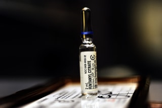 Image: Fentanyl Citrate, a CLASS II Controlled Substance as classified by the Drug Enforcement Agency in the secure area of a local hospital Friday, July10, 2009. Joe Amon / The Denver Post