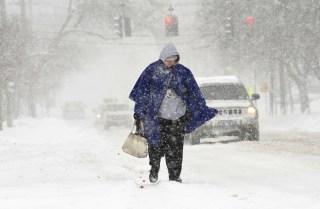 Image: Snow in Auburn, New York