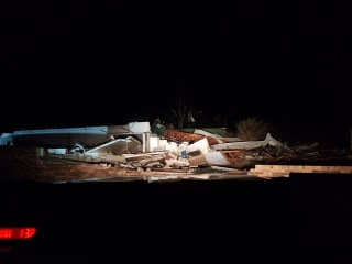 Image: Rosalie building destroyed by tornado in Alabama
