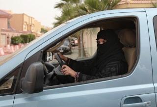 Image: Saudi-women-driving