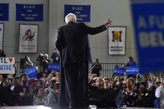 Bernie Sanders HBCU Tour and Rally At Atlanta University Center