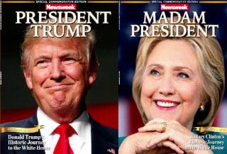 IMAGE: Newsweek election covers
