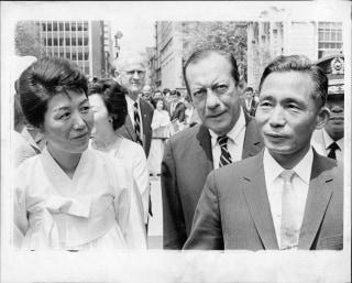 Image: Park Geun-hye's mother and father
