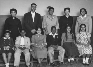 The Plaintiffs In Brown Vs. Board Of Education