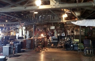 Image: This 2014 photo provided by Ajesh Shah shows the interior of a portion of the 'Ghost Ship' warehouse
