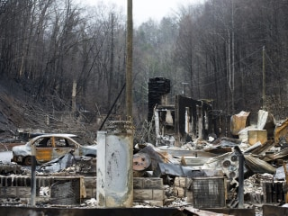 IMAGE: Tennessee wildfire damage