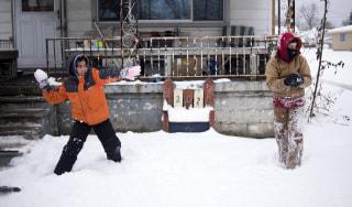Image: Snow in Flint, Michigan