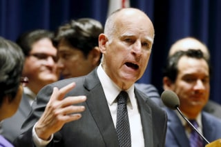 Image: California Gov. Jerry Brown