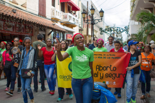 Image: DOMINICAN REP-ABORTION-CRIMINALIZATION-PROTEST
