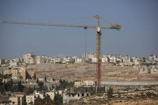 Image: Israeli settlment construction in West Bank
