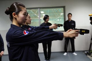 Image: Flight crew allowed to use stun guns