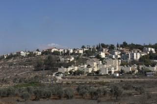 Image: The Israeli settlement of Beit El