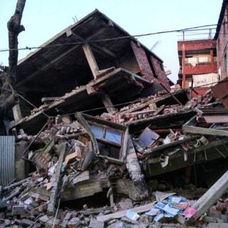 Image: Imphal, India, earthquake