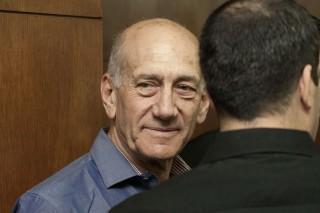 Image: Former Israeli Prime Minister Ehud Olmert in 2014