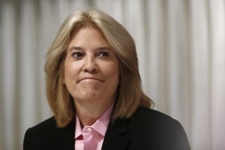 Image: In a June 19, 2013 file photo, Greta Van Susteren of FOX News Channel listens during an event in Washington, D.C.