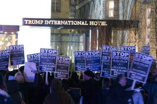 Image: Trump Protest
