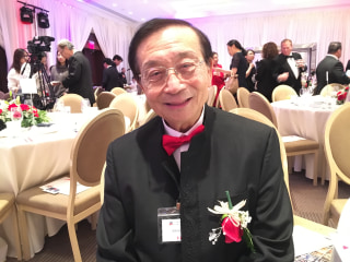 Alfred H. Liu, national chairman of the National Republican Asian Assembly, attending a presidential inaugural gala in Washington, D.C., on Saturday, Jan. 21, 2017.