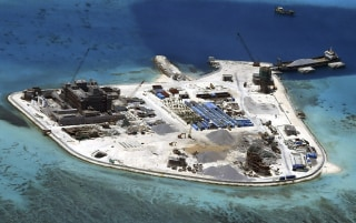 Image: Johnson South Reef in the disputed Spratly Islands