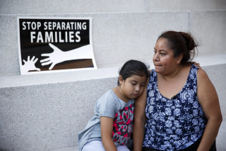 Image: Immigrant family