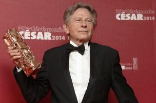 "Image: Roman Polanski won a Best Director award for ""La Venus A La Fourrure"" in 2014."