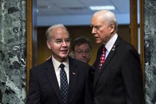 Image: HHS Nominee Price Testifies at His Senate Confirmation Hearing, Washington, USA - 24 Jan 2017