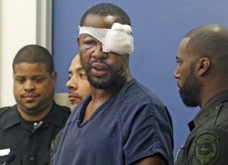 Image: Markeith Loyd, suspected of fatally shooting a Florida police officer,