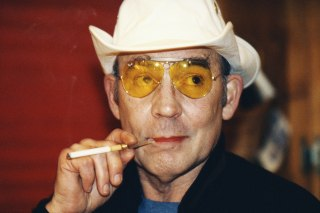 Image: Hunter S. Thompson in 1996