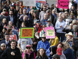 IMAGE: Pro-Obamacare protest
