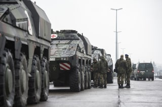 Image: Bundeswehr Ships Military Equipment To Lithuania