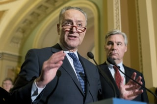 Image: Senate Minority Leader Democrat Chuck Schumer