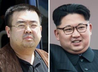 Image: Kim Jong Nam, Kim Jong Un