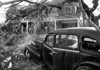 IMAGE: Exterior of Grey Gardens in the 1970s