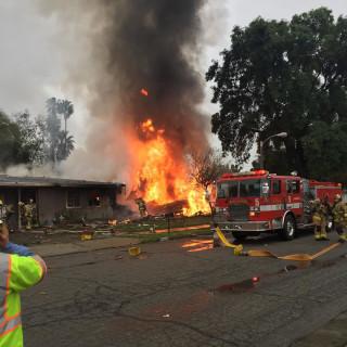 IMAGE: Riverside, California, plane crash