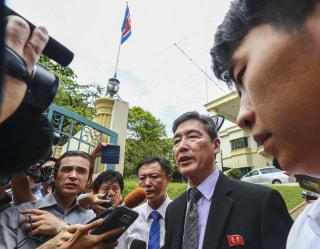 Image: Former North Korean deputy ambassador to the United Nations, Ri Tong Il,