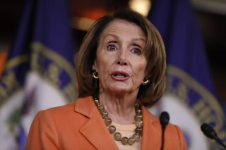 Image: House Minority Leader Nancy Pelosi Holds Weekly News Conference On Capitol Hill