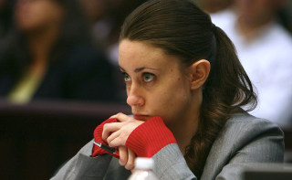 Casey Anthony during her murder trial