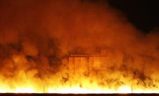 Image: Wildfire in Sitka, Kansas