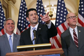 Image: Paul Ryan, House Leaders Hold Press Conference On American Health Care Act