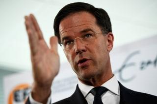 Image: Dutch Prime Minister Mark Rutte
