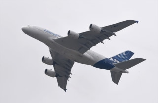 Image: An Airbus A380