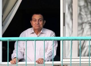 Image: Hosni Mubarak in 2016