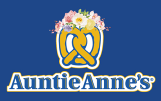 Image: In an effort to go after millennials, pretzel company Auntie Anne's is adding the Snapchat flower crown to its logo.