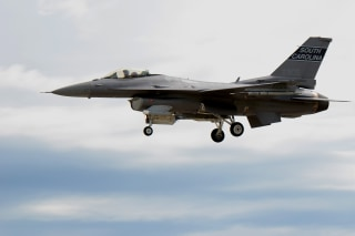 Image: A U.S. Air Force F-16 Fighting Falcon