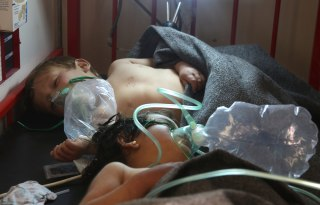 Image: Syrian children receive treatment