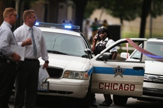 Image: Shootings In Chicago Add To 'Murder Capital' Label
