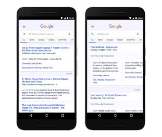 Image: Google Fact-Checker