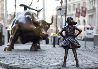 Image: Fearless Girl