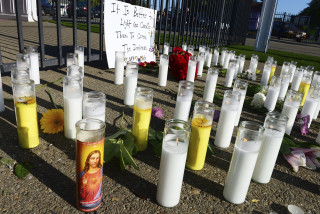 Image: Fresno shooting memorial