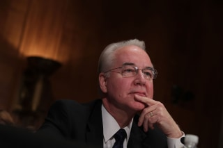 Image: Senate Confirmation Hearing Held For Rep. Tom Price To Become Health And Human Services Secretary