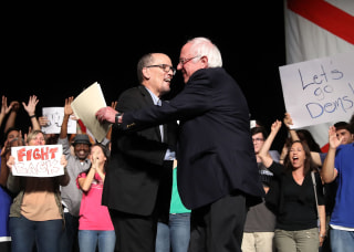 Image: Sen. Bernie Sanders And DNC Chair Tom Perez Hold Rally In Miami